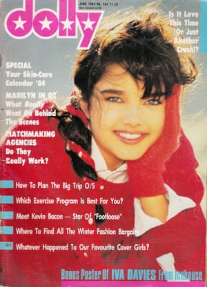 Dolly magazine cover from 1984