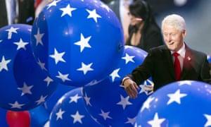 bill clinton balloons dnc