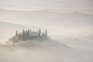 Paul Miller, runner-upSunrise over the beautiful Val d'orcia, Tuscany. I loved the way in which this house really stood out against the early-morning mist.MICK RYAN, JUDGE: