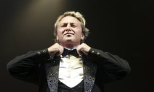 Michael Flatley, pictured performing in London in 2006, will 'set the scene for his dance troupe' who will do most of the dancing.