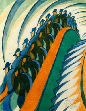 Whence & Whither, c1930 by Cyril Power.