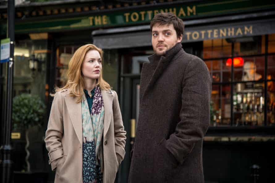Holliday Grainger and Tom Burke as Cormoran Strike in the BBC adaptations of JK Rowling's crime novels.