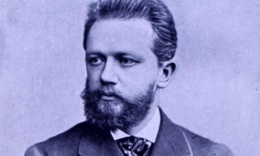 Pyotr Ilyich Tchaikovsky in 1873, aged 33.