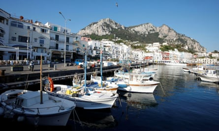 The opening of Sex and Vanity is set in Capri.