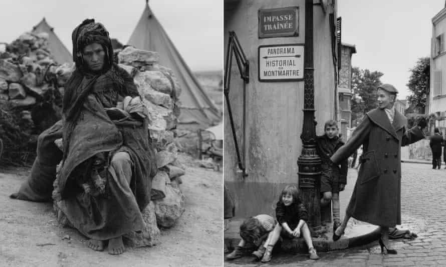 Algerian refugee mother, 1958, Prêt-à-Porter, Montmartre