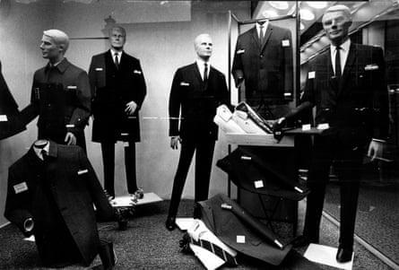 Burton menswear from earlier times.