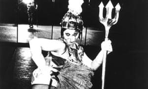 A scene from Derek Jarman's 1978 film, Jubilee.