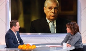 Broadcasters discuss Prince Andrew