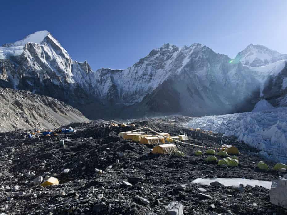 Everest base camp, May 2016.