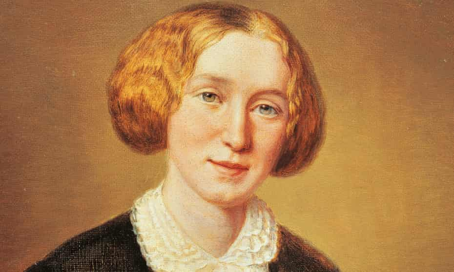 portrait of Mary Ann Evans (1849).