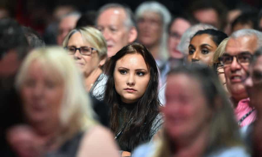 Delegates at Labour's autumn conference last year.
