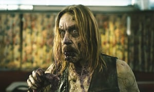 Iggy Pop as a zombie in The Dead Don't Die, directed by Jim Jarmusch.
