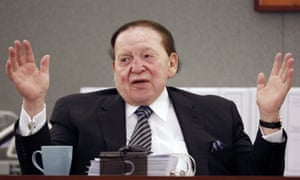 Sheldon Adelson testifies in court in Las Vegas last year in a case that could still shed unwelcome light on the gambling billionaire's business practices.