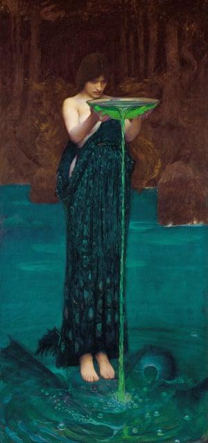 Circe Invidiosa (1892) by JW Waterhouse.
