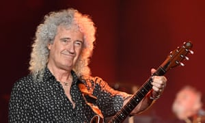 Brian May of Queen performing in Australia in February.
