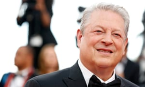 Al Gore at Cannes where he is promoting An Inconvenient Sequel