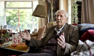 Brian Aldiss, at his home in Oxford.