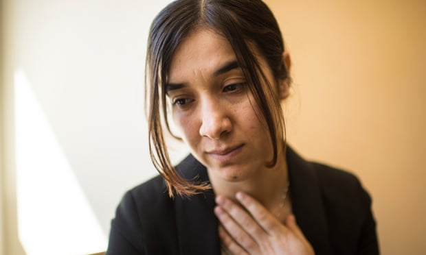 Nobel peace prize I was an Isis sex slave. I tell my story because it is the best weapon I have Nadia Murad