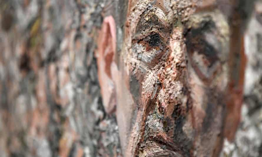 Comparisons to Rembrandt don't seem overblown … A detail of Self Portrait Reflection, 2002, by Lucian Freud.
