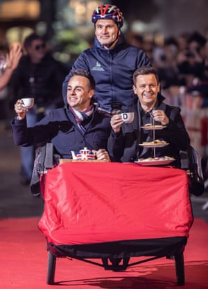 Ant and Dec at auditions for the new series of Britain's Got Talent, January 2019.