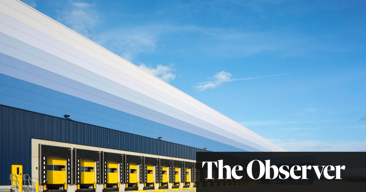 A shed the size of a town: what Britain's giant