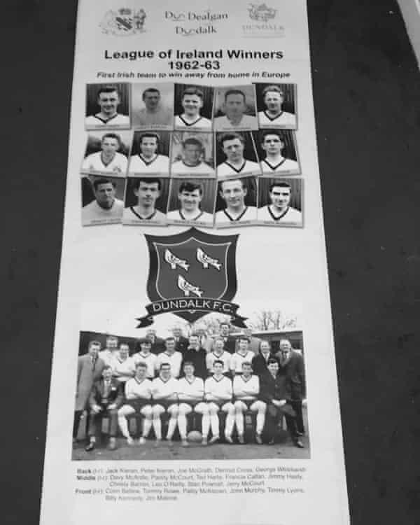 Dundalk's 1963 League of Ireland-winning team