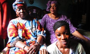 Fanta, her daughter M'Badialla, and her granddaughter