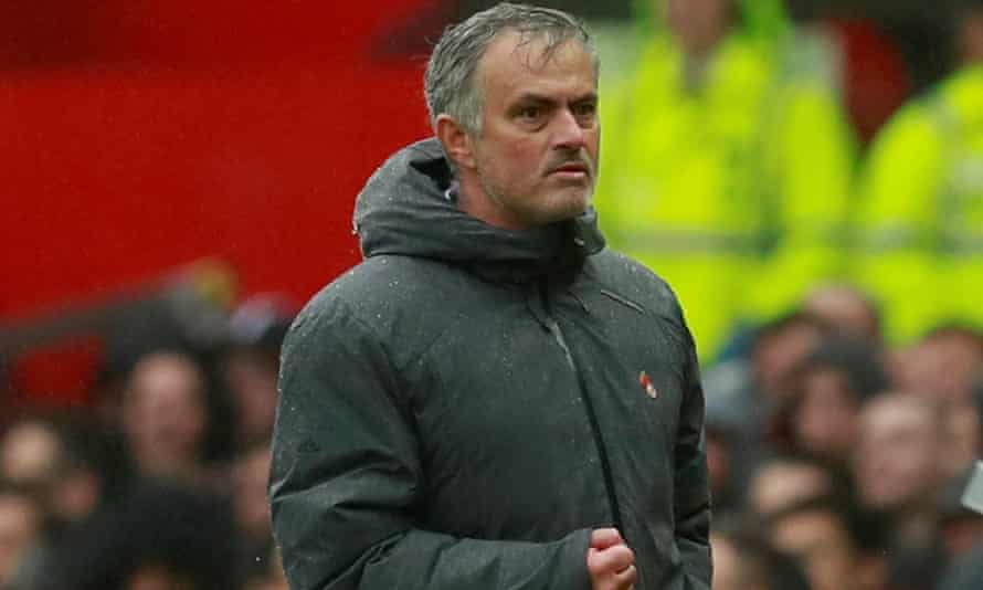 José Mourinho enjoys Manchester United's 1-0 win over Tottenham at Old Trafford