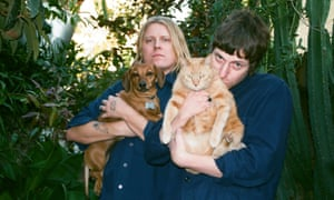 Dog sounds … Ty Segall, left, and White Fence.
