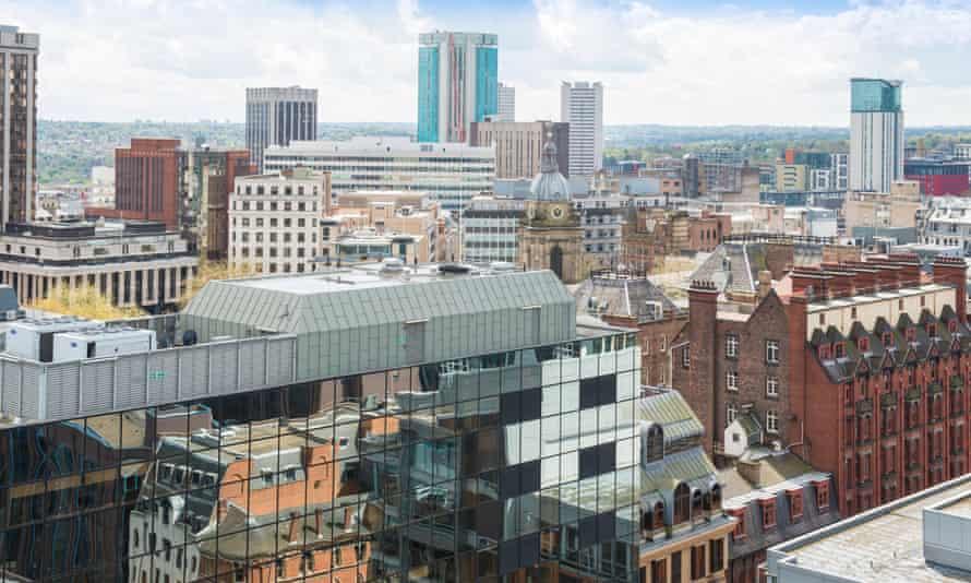 A view of Birmingham city centre