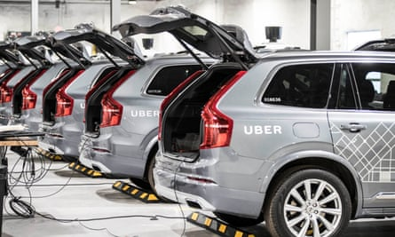 Uber car production line