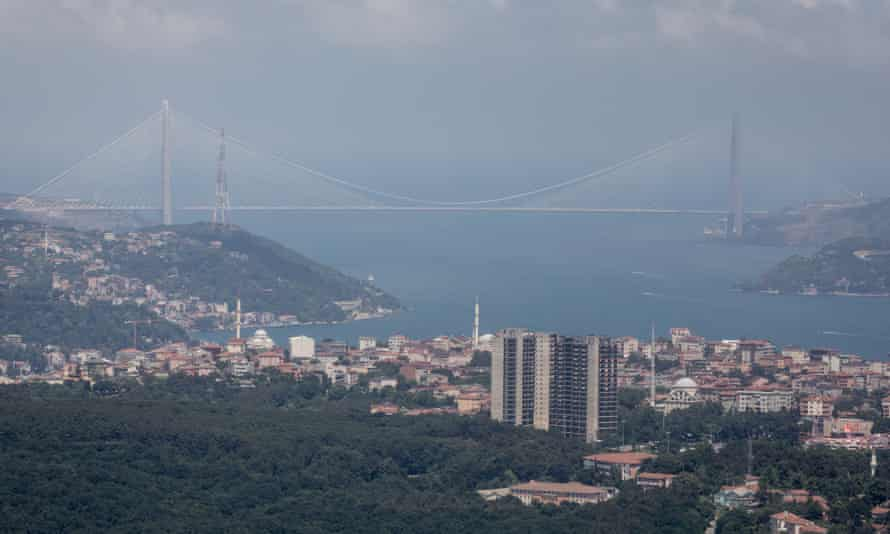 The new Yavuz Sultan Selim bridge is one of the grand projects boosting national pride.