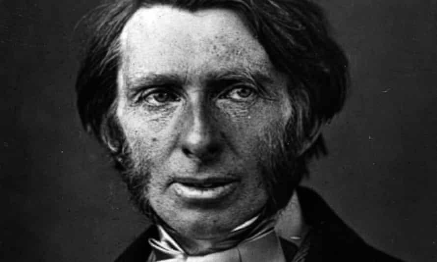 John Ruskin (1819-1900), English author, art critic and artist.