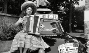 Yvette Horner in 1959. She created the soundtrack of light-hearted music that set the mood on the roads of France.