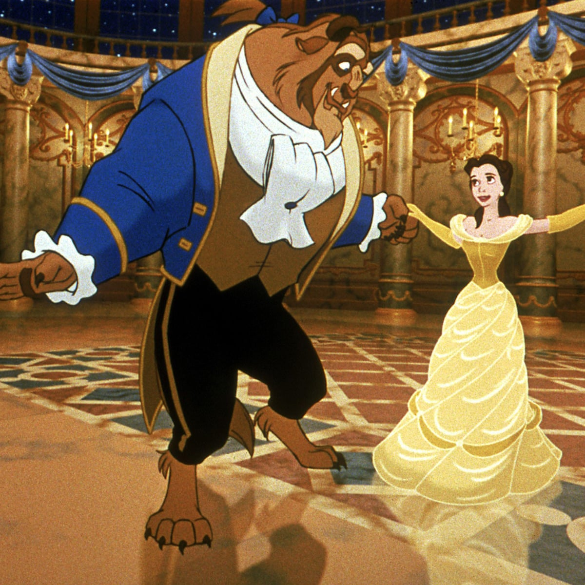 How We Made Beauty And The Beast Animation In Film The Guardian