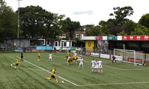 Harrogate's CNG Stadium does not yet comply with EFL regulations.