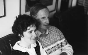 Ron McCallum and Mary Crock not long after they were engaged in 1985