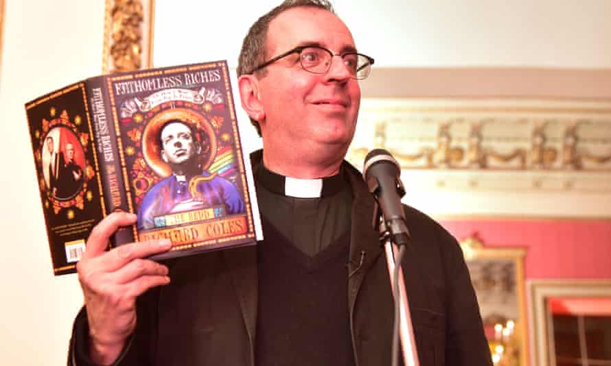 The Rev Richard Coles appears at the 2014 Bad sex in fiction award ceremony.
