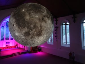 Jerram's Museum of the Moon, which will highlight ongoing lunar exploration and research, will also come with its own music, with a surround-sound composition created by BAFTA and Ivor Novello award-winning composer Dan Jones.