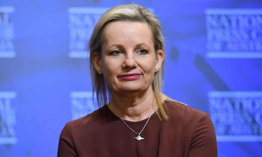 Australia's environment minister Sussan Ley at the National Press Club in Canberra