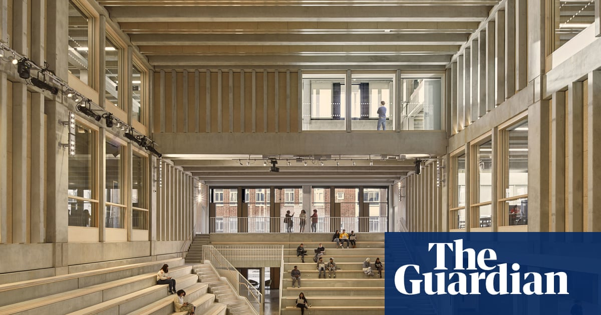 'It sounded crazy': palatial six-storey hymn to social interaction is Britain's best new building
