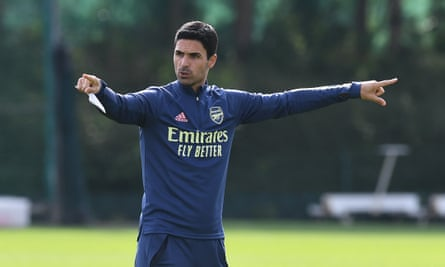 Mikel Arteta says Arsenal must choose which direction they want to go in 'to make that gap closer and go for it' or stay where you are.