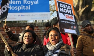 Workers are calling for a new minimum hourly rate of £10.