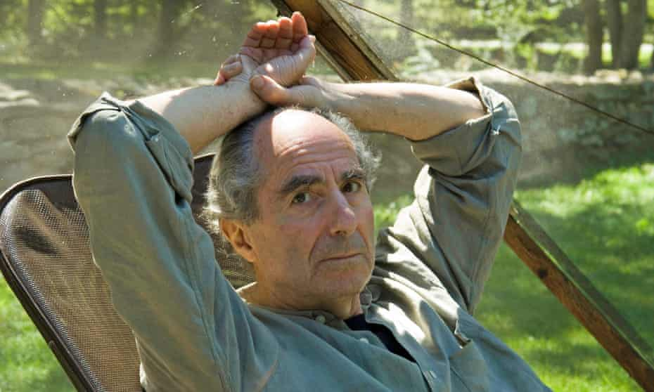 Philip Roth at his home in Connecticut in 2005