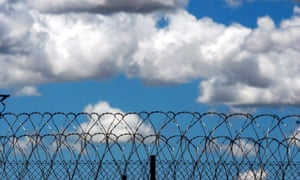 Razor wire used in prisons.