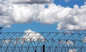 Image of razor wire used at correctional  centres