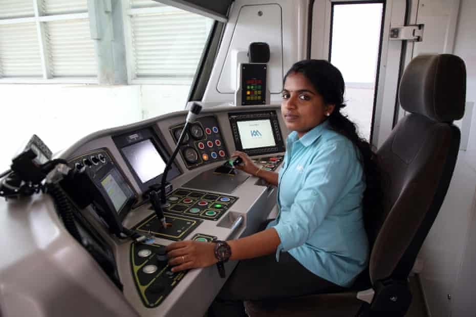 Kothi Metro driver Hima C