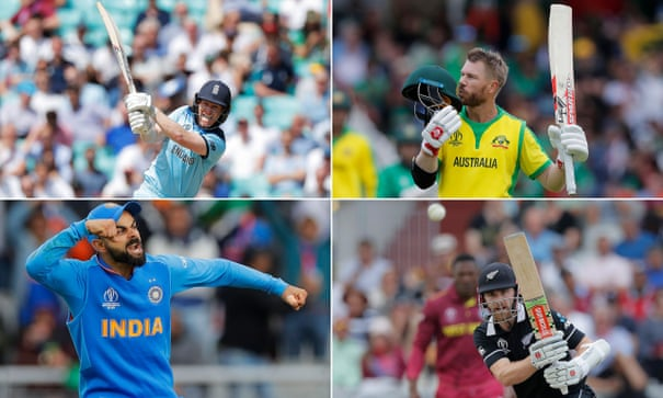 The prize in sight: how the Cricket World Cup semi-finalists compare
