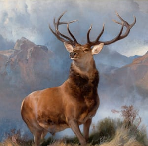 Edwin Landseer's The Monarch of the Glen, 1851.