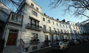 Egerton Crescent in Kensington and Chelsea